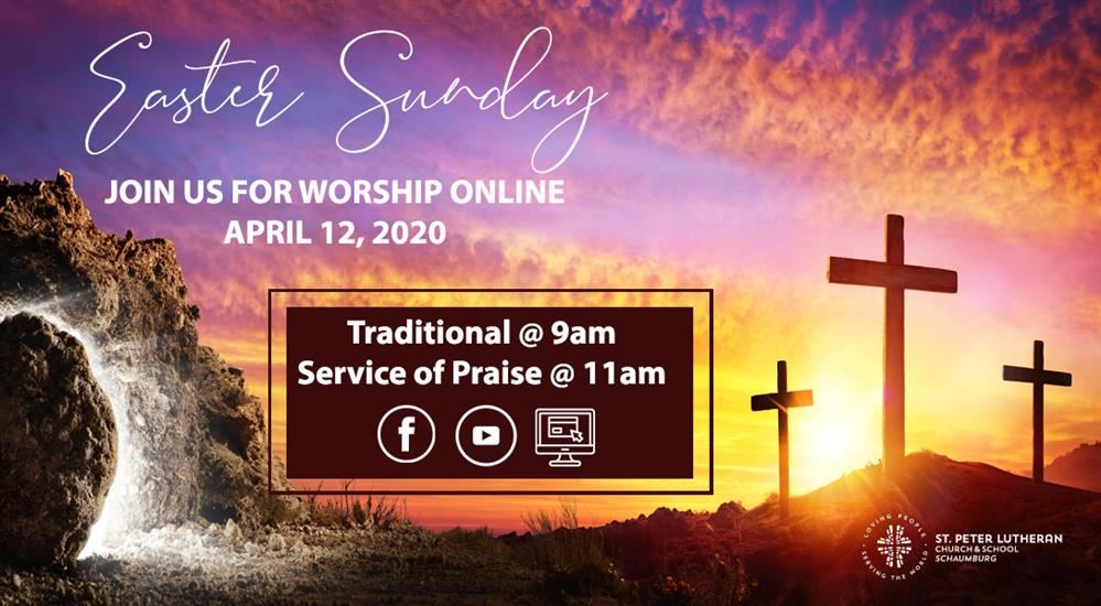 April 12, 2020 Easter Contemporary Service