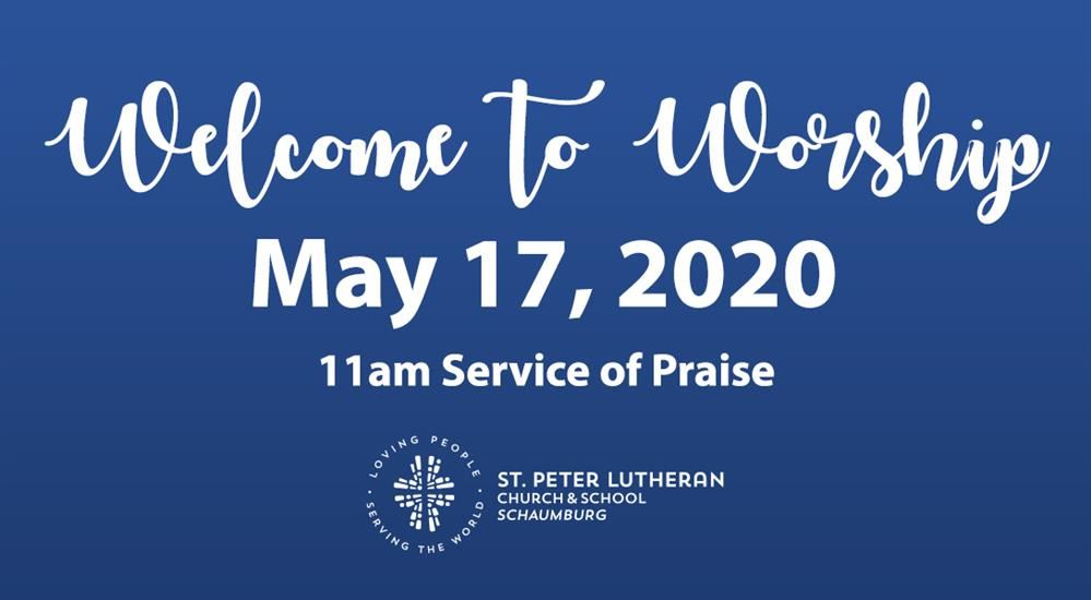 11am Contemporary Service - May 10, 2020