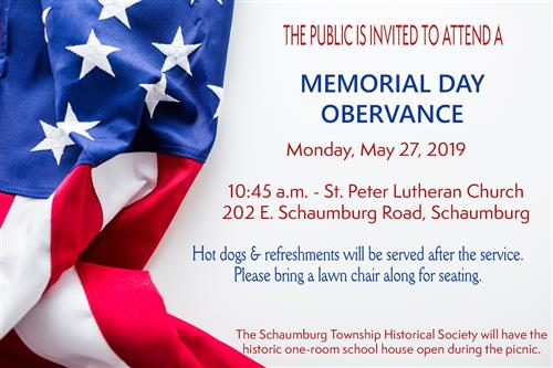 Memorial Day Obervance