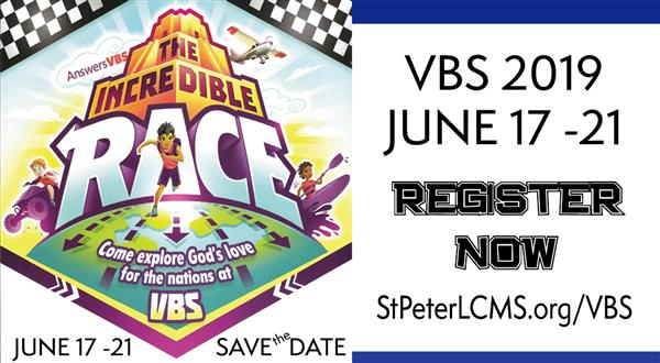 VBS - Register Now!